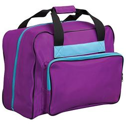 Janome 002purthunder Universal Sewing Machine Tote in Purple