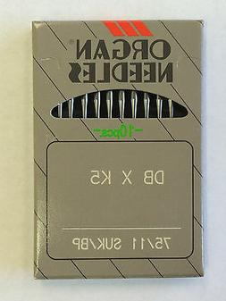 10 ORGAN DBXK5 INDUSTRIAL EMBROIDERY SEWING MACHINE NEEDLES