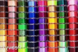 60 Color Prewound Embroidery Bobbins Embroidery Thread Bobbi