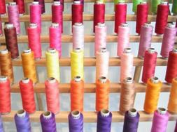 100 Spools of Poly all purpose sewing or Quilting Thread in