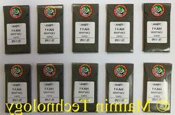 50 ORGAN TITANIUM HOME EMBROIDERY MACHINE NEEDLES 75/11 SHAR