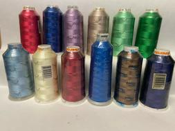 12 Madeira Melody embroidery sewing  machine thread  5500 yd