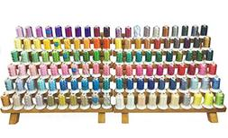 simthread 120 Spools 120d/2 550y Polyester Machine Embroider
