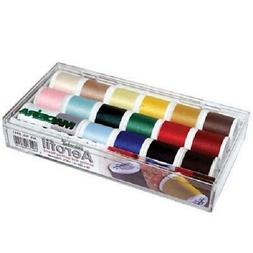 Madeira 18 Spool Aerofil Embroidery Quilting Thread Gift Box