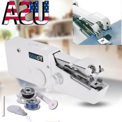 1pc Mini Portable Handheld Cordless Sewing Machine Hand Held
