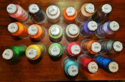 Embroidex 21 Spools Bright Embroidery Machine Thread NEW