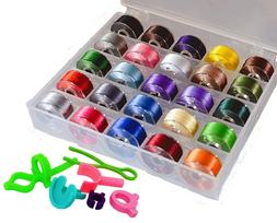 25 Color Embroidery Machine Thread Embroidery Crafts Handmad