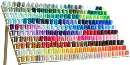 260 spools polyester and embroidery sewing machine
