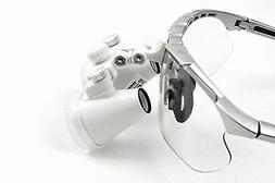 Dental Power 3.5X Binocular Loupes 420mm Working Distance Gl