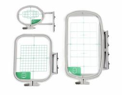 3 hoops for brother embroidery machine se