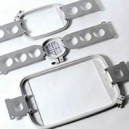 3 Hoops Set for Janome MB4 MB7 MB-4 Elna Expressive 940 9900