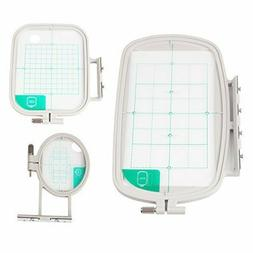 3-Piece Embroidery Hoop Set for Brother Embroidery Machines