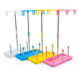 3 Spool Thread Stand for Overlock Sergers Sewing & Embroider