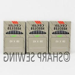 30 ORGAN TITANIUM DBXK5 #9 EMBROIDERY MACHINE NEEDLES fitsTa