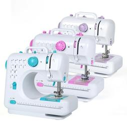 3 Color Electric Desktop Sewing Machine 12 Stitches Househol