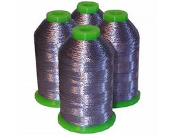 4-cone Metallic Polyester Core Embroidery Thread Kit - LILAC
