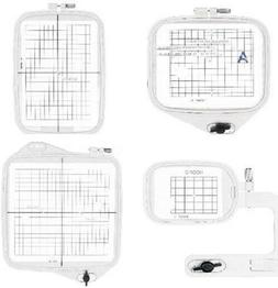 4 Hoops for Janome Embroidery Machine  A, B, Free Arm & Giga