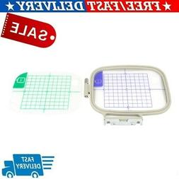 4 In 1 EMBROIDERY MACHINE HOOPS SEWING FRAME SET FOR BROTHER