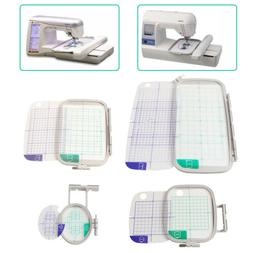 4-Piece Embroidery Hoop Set for Brother PE770 PE700 PE700LL