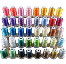 New Brothread 40 Brother Colors Polyester Embroidery Machine