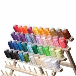 40 Spools Brother/Disney Colors Embroidery Machine Thread ST