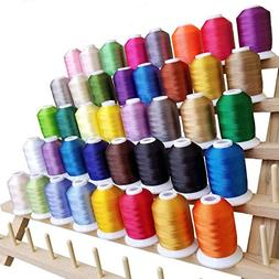 WALLER PAA 40 Spools Embroidery Thread Match SE400 Brother/S
