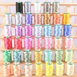 ThreadNanny 40 Spools of Art Silk Rayon Thread for Machine E
