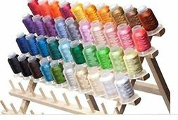 40 spools polyester embroidery machine thread new