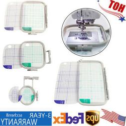 4X Embroidery Machine Hoop Set For Brother PE770 PE700 PC820