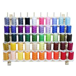 ThreadNanny PREMIUM 50 Cones  of Polyester Embroidery Thread