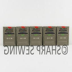 50 ORGAN TITANIUM DBXK5 #11 EMBROIDERY MACHINE NEEDLES fitsT