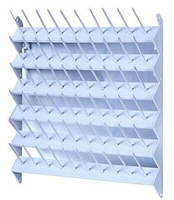 60 Spool Cone Thread Stand/Rack Organizer for Sewing and Emb