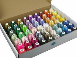 Simthread 63 Brother Colors Polyester 120d/2 40 Weight Embro