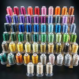New brothread 63 Brother Colors Polyester Embroidery Machine