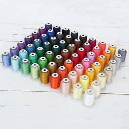 63 spool brother colors polyester embroidery machine
