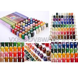63 Premium Spools Polyester Embroidery Thread Set 40wt for B