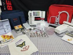 Bernina 730 sewing/embroidery Serviced! Good machine!!