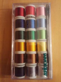Madeira 8040 Assorted Viscose Rayon 40 Machine Embroidery Th