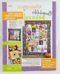 Kimberbell Designs: BROOMHILDA's BAKERY Embroidery CD & Book