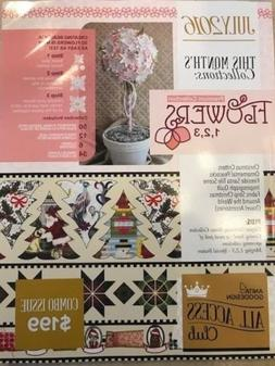 Anita Goodesign All Access VIP Book & CD July 2016-8 Collect