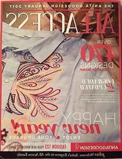 Anita Goodesign All Access VIP Club Embroidery Designs CD &