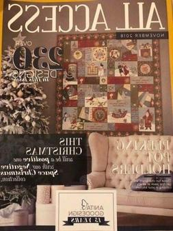 Anita Goodesign All Access VIP Club November 2018 Embroidery