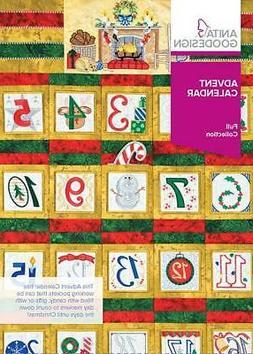 Advent Calendar Anita Goodesign Embroidery Machine Design CD