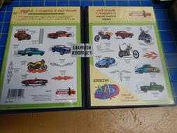 Amazing:Cars & Choppers1 20 Designs  Machine Embroidery Desi