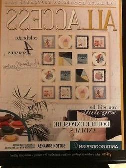 Anita Goodesign ALL ACCESS VIP Club SEPTEMBER 2018 Embroider