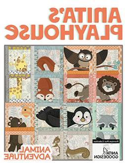 Anita Goodesign Embroidery Designs Animal Adventure Premium