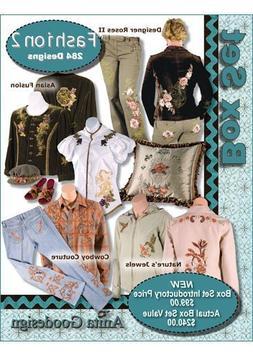 Anita Goodesign Embroidery Designs Fashion BOX SET #2