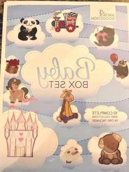 Anita Goodesign BABY BOX SET - 10 Design Packs Embroidery Ma
