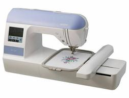 BRAND NEW BROTHER PE-770 PE770 EMBROIDERY MACHINE W/USB & DE