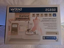BrandNew Brother SE625 Computerized Sewing & Embroidery Mach